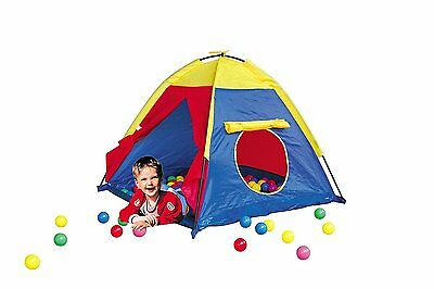Play Time Dome Tent with Play Balls Indoor Outdoor Children's Kids Fun Activity