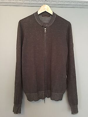 Mens Vintage Reiss Cardigan Size Small