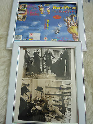Monty python Holy grail vhs sleeve & something press Poster B Movies Photo Dvd