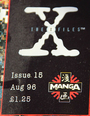THE X FILES #15 Issue 15 Aug 1996 MANGA by Chris Carter