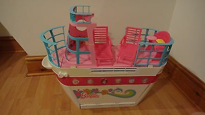 Barbie Sisters Cruise Ship  Complete With  Waterslides Excellent See Photos