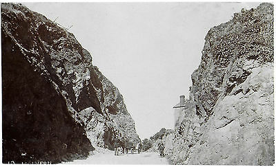 Vintage Postcard.  MALVERN. The Wyche Gap.  Unused Pre-1919.  Ref:72346