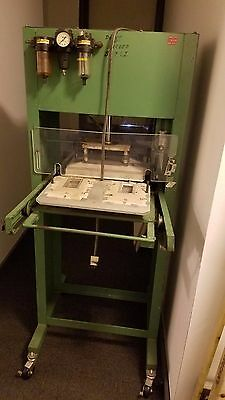 Alloyd Blister Packing Machine Model 2S Pick Up Only