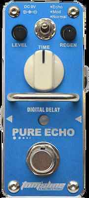 Pedale Delay Digitale/Analogico Pure Echo - True Bypass