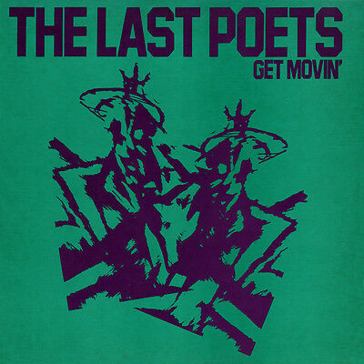 """THE LAST POETS 'Get Movin' vinyl 12"""" - CELL 180 - 1985"""