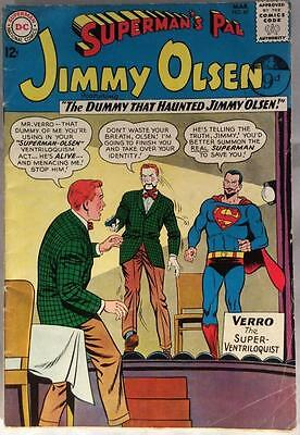 Superman's Pal Jimmy Olsen #67 (DC 1963) 52 year old classic in VG/FN condition.