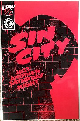Sin City - Just Another Saturday Night. (Wizard Ltd Edition With C.O.A) 9.4 Nm.