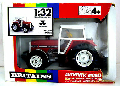 Britains Massey Ferrguson MF 3680 Tractor - 1/32 - Virtually Mint in Damaged Box