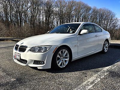 2012 BMW 3-Series 328i 2012 BMW 328i COUPE - ALPINE WHITE / SADDLE BROWN LEATHER