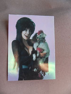 Elvira Mistress of Omnichrome . Promo Card 2 of 2 - Comic Images 1997 - VF +