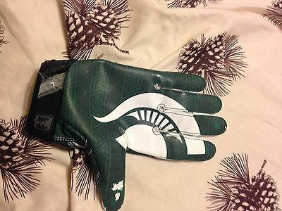 Michigan State Football Game Used Receiver Glove