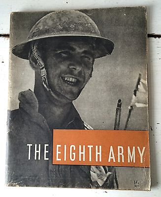HMSO WWII 1944 The Eighth Army September 1941 to January 1943 book