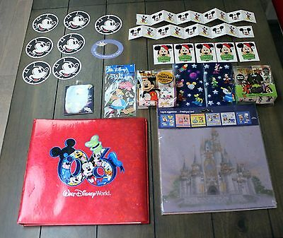 DISNEY SCRAPBOOK lot DISNEY WORLD stickers PAGES book SHEETS more HUGE