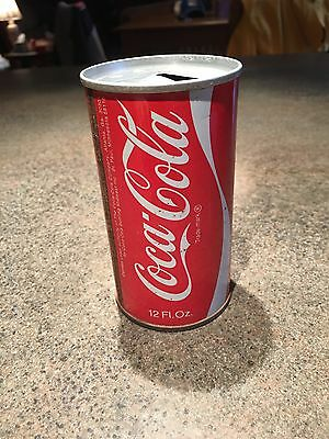 Coca-Cola  steel 12 oz can, early 70's pre UPC code