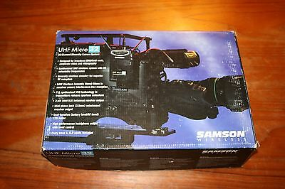 Samson UHF Micro 32 Wireless Transmitter and Receiver System