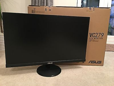 """Asus VC279 27"""" LED 1080p PC Monitor. Fantastic Condition."""