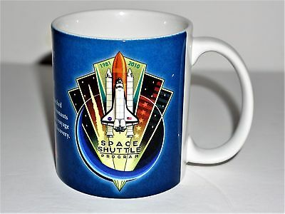 Space & Rocket Center Nasa Space Shuttle Program Commemorative Coffee Cup/mug