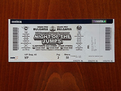 Night of the Jumps - FIM Freestyle MX World Championship - 12.12.2015 - Sofia