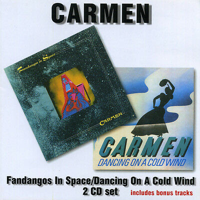 Carmen – Fandangos In Space / Dancing On A Cold Wind (Remastered,)  2CD NEW