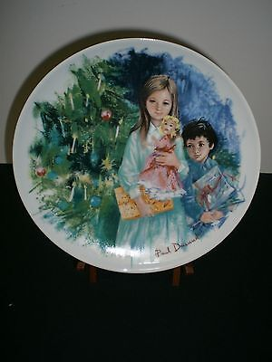 """Limoges Turgot """"Cecile et Raoul"""" Collector Plate 1980, by Paul Durand"""