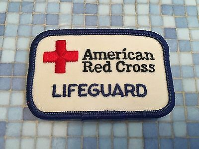 American Red Cross Patch Lifeguard~ Very good condition!  Never used!