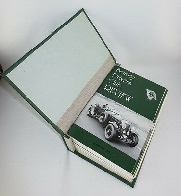 The Bentley Drivers Club Review 12 issues in B.D.C bound holder 1987-89 #163-174
