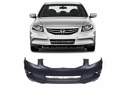 Replacement Front Bumper Cover For 2011-2012 Honda Accord Sedan New Free Ship
