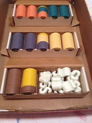240 Clay Roulette? Poker Chips Casino? All have same design Rare