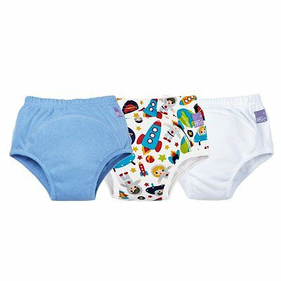 Bambino Mio, Potty Training Pants, Mixed Boy, Outer Space, 18-24 Months (3 Pack)