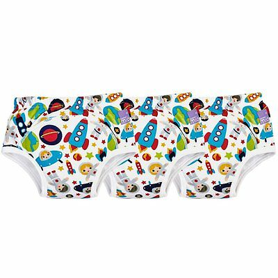 Bambino Mio, Potty Training Pants, Outer Space, 18-24 Months (3 Pack)