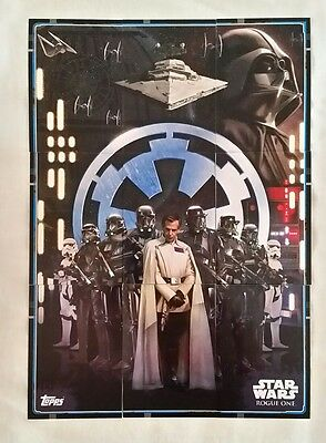 Topps UK Star Wars Rogue One Puzzle cards 102 - 110