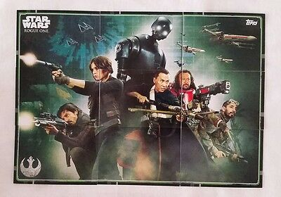 Topps UK Star Wars Rogue One Puzzle cards111 - 119