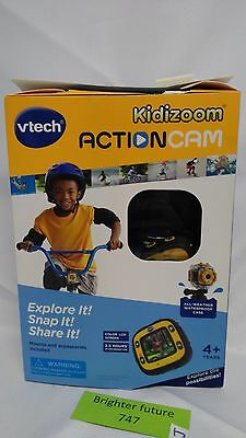 VTech Kidizoom Action Cam, Yellow/Black 80-170700 - FREE SHIPPING