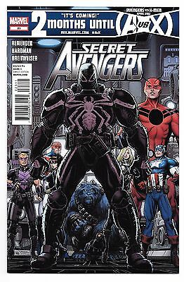 Secret Avengers #23 NM 1st App Agent Venom Marvel comics 1st print