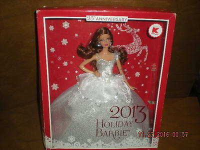 Mattel - Barbie 2013 Holiday Barbie 25th Anniversary Doll - K Mart Exclusive