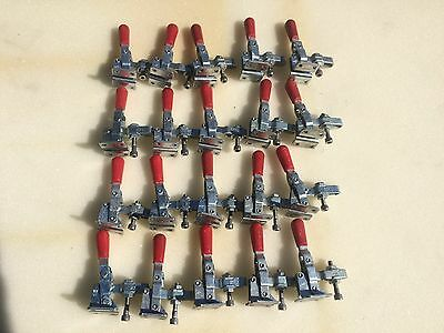 De-Sta-Co Model 201-U Hold-Down Action Toggle Clamp Locking. Lot of 20.