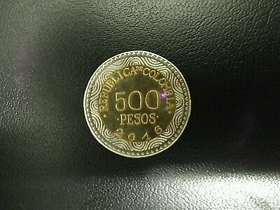 """Colombian """"500 Pesos"""" Coins (2016)"""