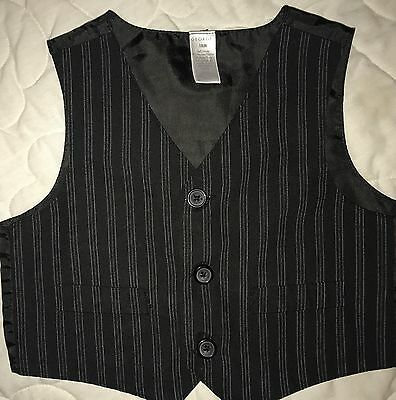 Boys Size 18 Months George Pin Striped Vest Church Easter Pictures