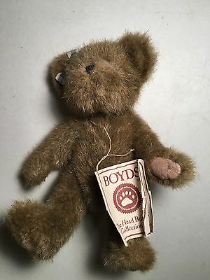 Boyds The Head Bean Collection Beary Goodfriend Genuine Boyds