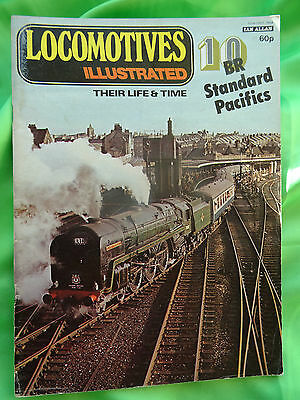 VINTAGE: RAILWAY MAGS - LOCOMOTIVES ILLUSTRATED by IAN ALLAN ISSUE No.10 (USED)
