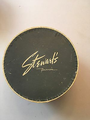 Antique Vintage Stewart's Baltimore Hat Box