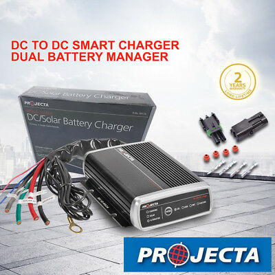 Projecta 12V 25A Dc To Dc Battery Charger Idc25 Agm Deep Cycle Solar