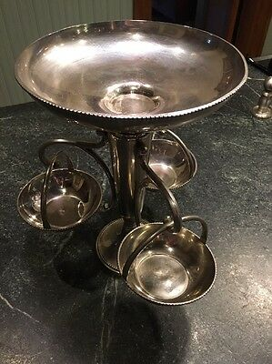 Silverplate  Colonial Epergne