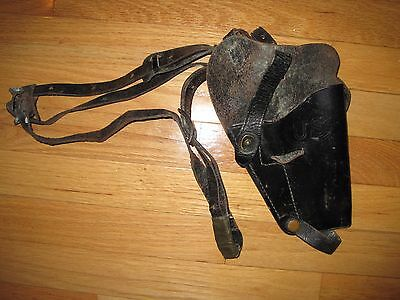 US Army M7 leather shoulder holster   !!!
