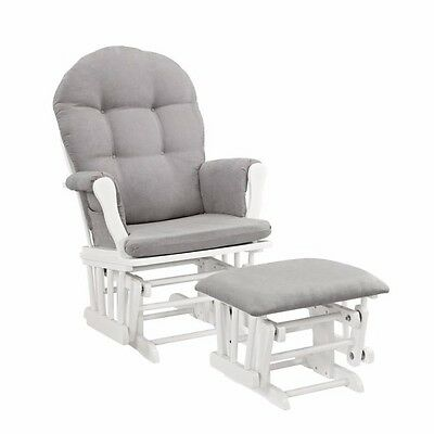 Nursery Rocking Chair Glider Chairs Rocker and Ottoman For Bedroom Newborn Baby