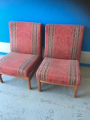 Two Occasional Chairs