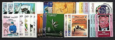 Kuwait, 2000/ 01 collection of  7 sets (MNH)