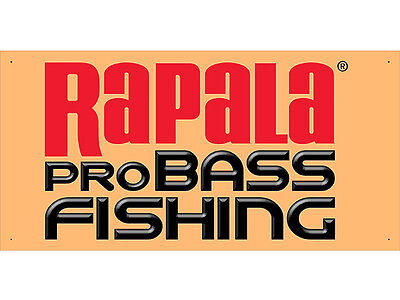 Advertising Display Banner for Rapala Sales Service Parts