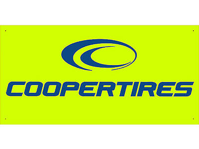 Advertising Display Banner for Cooper tires Sales Service Parts
