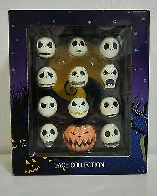 N-018 Jack Face Collection Nightmare Before Christmas Jun Planning 1999 Ltd Ed